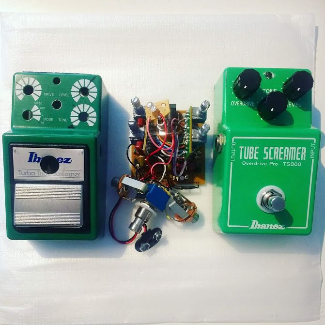 Tubescreamer switch repairs & mods