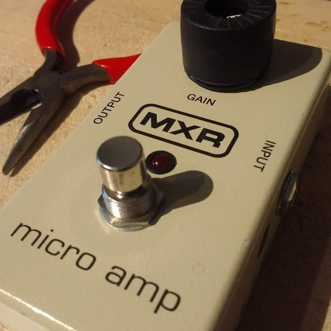 MXR Micro Amp gain pot replacement