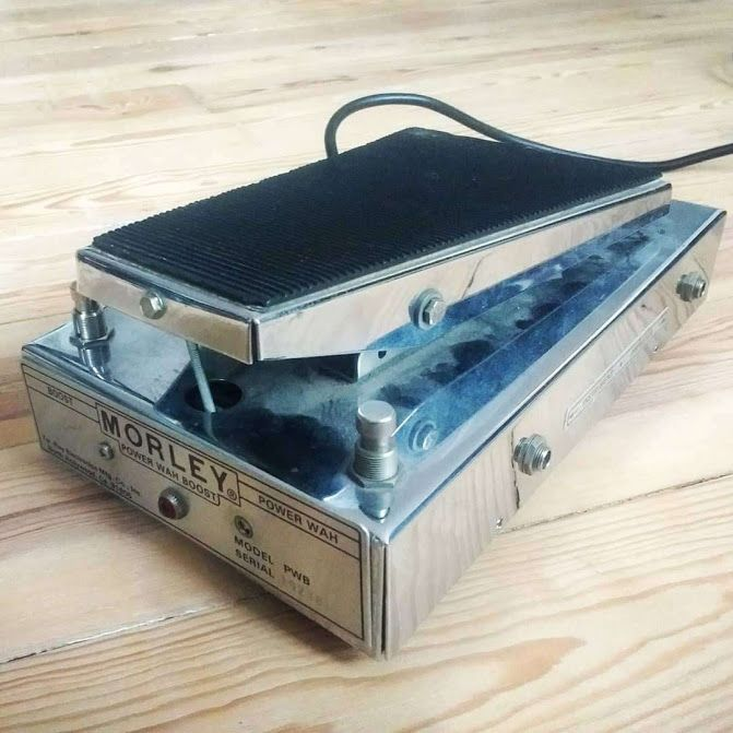 Vintage Morley Power-Wah-Boost repair
