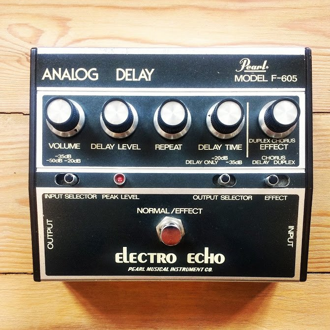Pearl Analog Delay repair