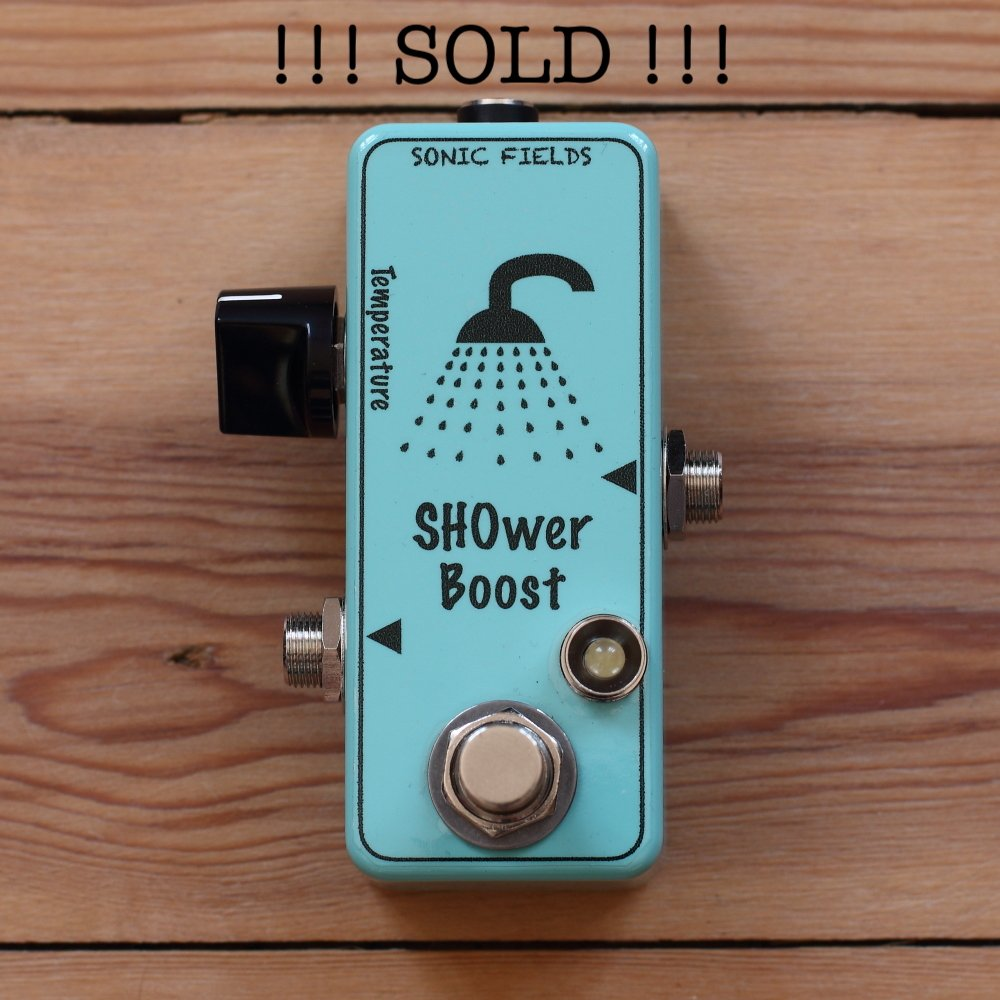 Shower-Boost-SH1-Powder-Blue-Sonic-Fields-1 sold